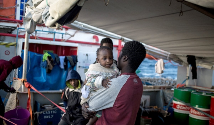 Migrants stranded on NGO ships are being driven to despair, Sea Watch says