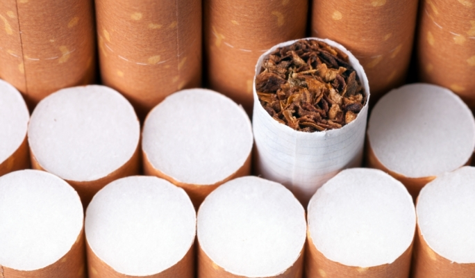 200,000 contraband cigarettes seized by Customs during raid