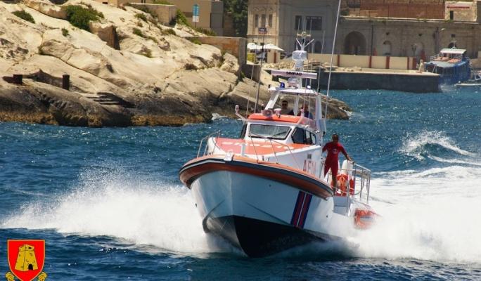 AFM rescues 37 migrants off rubber dinghy