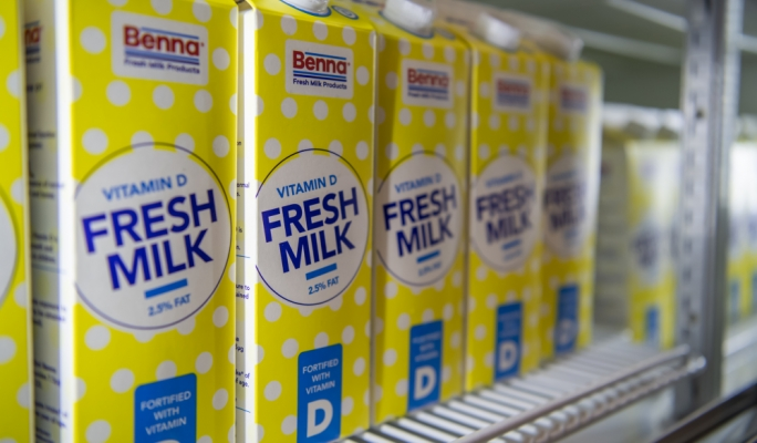 Benna's fortified Vitamin D milk fights off the pandemic's indoor blues