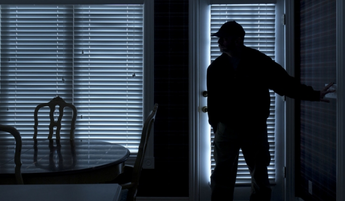 Thief caught stealing from friend's house
