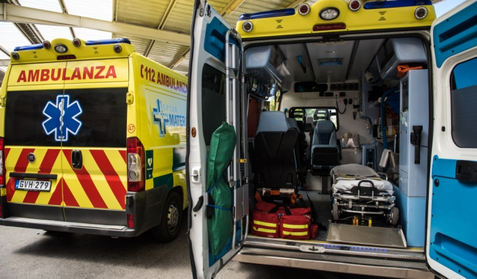 Motorcyclist seriously injured in Gzira crash