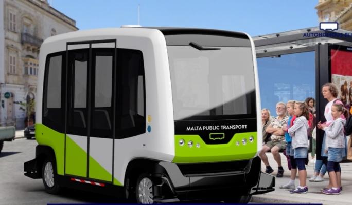 [WATCH] Pilot project to test autonomous buses launched