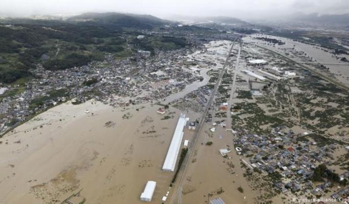 Japan deploys military as Hagibis typhoon kills 23